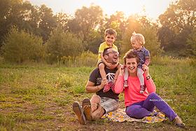 fotografia rodzinna Gliwice, zdjęcia plenerowe