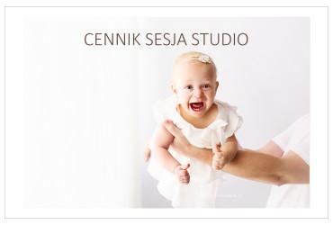 CENNIK SESJA STUDIO