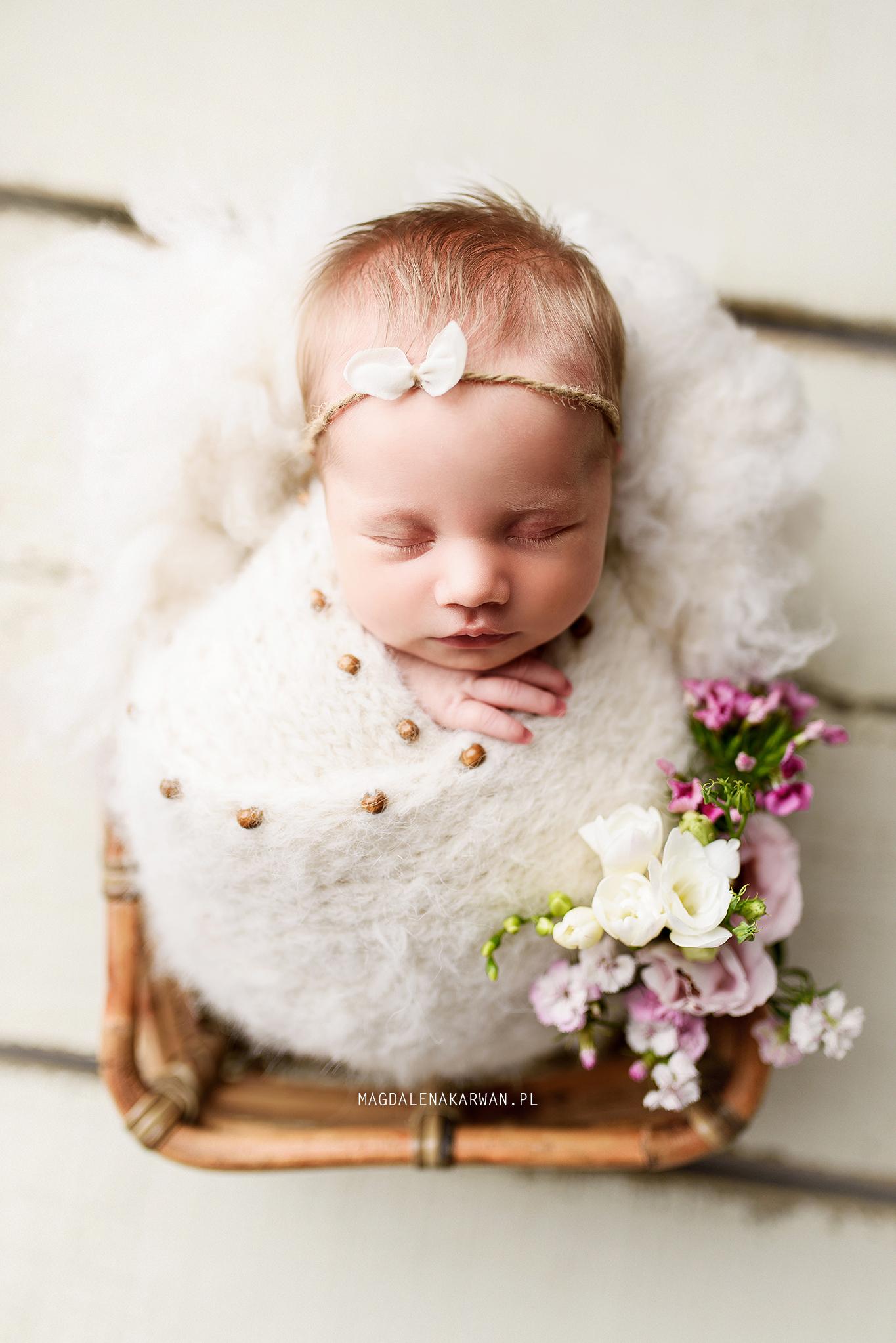 zdjęcia noworodka_slask_karwan